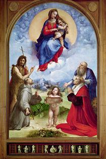 The Foligno Madonna von Raphael