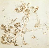 St. George and the Dragon  von Raphael