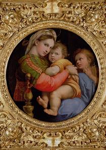 The Madonna of the Chair  von Raphael