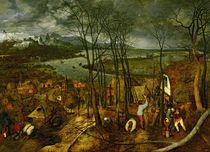 The Gloomy Day - Spring by Pieter the Elder Bruegel