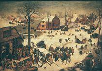 The Census at Bethlehem  von Pieter the Elder Bruegel