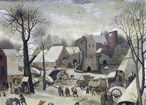 The Census at Bethlehem by Pieter the Elder Bruegel