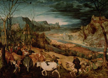 The Return of the Herd  by Pieter the Elder Bruegel