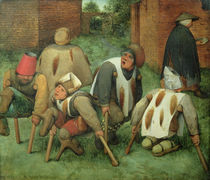 The Beggars von Pieter the Elder Bruegel