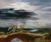 Tam O'Shanter von Ferdinand Victor Eugene Delacroix