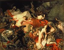 The Death of Sardanapalus by Ferdinand Victor Eugene Delacroix
