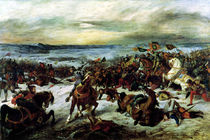 The Death of Charles the Bold  by Ferdinand Victor Eugene Delacroix