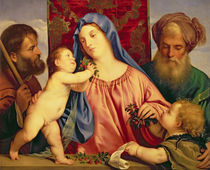 Madonna of the Cherries with Joseph von Titian