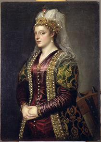 Portrait of Caterina Cornaro  by Titian