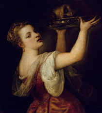 Salome Carrying the Head of St. John the Baptist by Titian