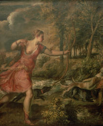 The Death of Actaeon von Titian