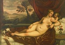 Venus and Cupid  von Titian
