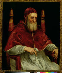 Pope Julius II  by Titian