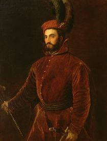 Portrait of Ippolito de' Medici  by Titian