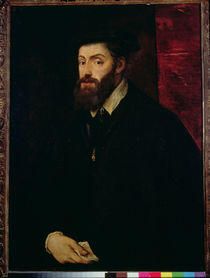 Portrait of Charles V  by Titian