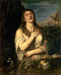 Mary Magdalene in Penitence by Titian