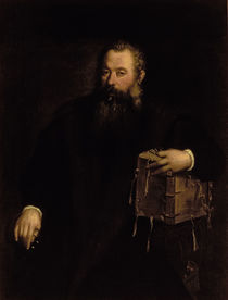 Portrait of the doctor Andreas Vesalius  by Titian