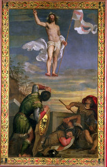 The Resurrection of Christ  by Titian