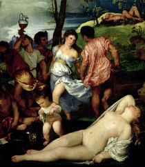 The Andrians by Titian
