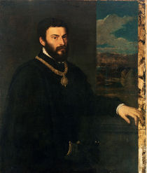 Portrait of Count Antonio Porcia  by Titian