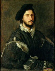 Portrait of Vincenzo Mosti  by Titian