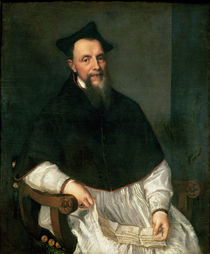 Portrait of Bishop Ludovico Beccadelli by Titian