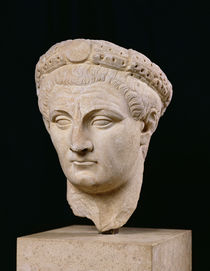 Bust of Emperor Claudius  by Roman