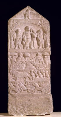 Votive stela dedicated to Saturn by Roman