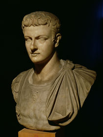 Bust of Caligula  by Roman