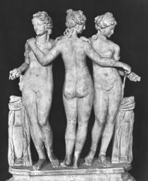 The Three Graces von Roman