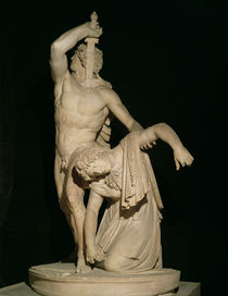A Gaul Killing Himself having Killed his Wife before the Enemy von Roman