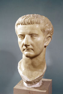 Head of the Emperor Tiberius  by Roman