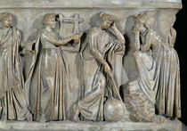 Sarcophagus of the Muses by Roman