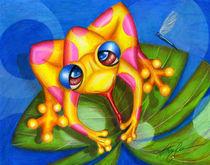 Froggie Fantastic by Alma  Lee