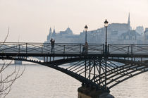 Le Pont des Arts by Thierry  Dehesdin
