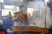 Street food in Singapore von Thierry  Dehesdin