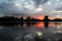 Abends am See von Torsten Reuschling