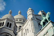 Sacre-Coeur. by Sarah Becker