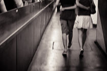 Metro lovers. by Sarah Becker