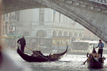 Under the Rialto bridge von Thierry  Dehesdin