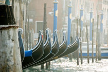 A gondola parking von Thierry  Dehesdin