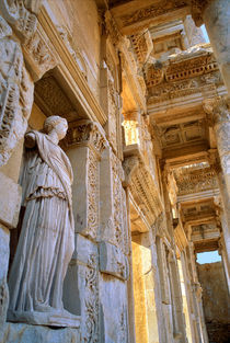 Library of Celsus, Ephesus, Turkey by Tom Dempsey