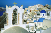 Oia village, Santorini Island, Greece by Tom Dempsey
