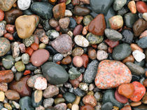 'Pebbles on Pictured Rocks National Lakeshore, USA' by Tom Dempsey