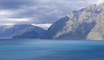 Lake Wakatipu New Zealand by Monica Pronk