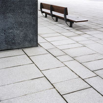 Bench in London Docklands, UK. by Tom Hanslien