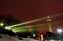 Skylon Tower at night by Julian Sheen
