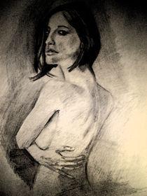 Woman drawing by Luan Mateus Dal Savio