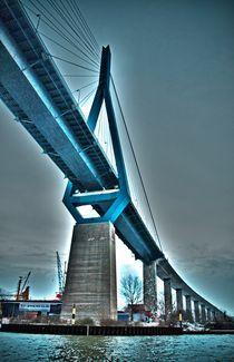 Köhlbrandbrücke (Tehsmer) by SIGHTJUMPING.com Photo Collection