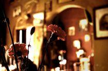 cafe flower von Zuzanna Nasidlak